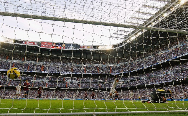 "Ronaldo scores from a penalty only against Barca at ""Bernabeu"""