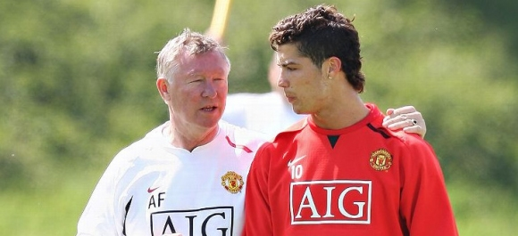 Former coach of Manchester United revealed the curious approach of Ferguson towards Ronaldo