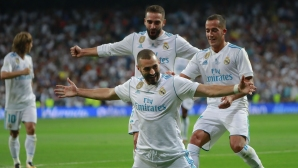 Benzema was a mix between Zidane and Ronaldo