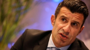 Figo:Football must teach children values