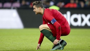 A new angle indicates that perhaps Cristiano did not simulate